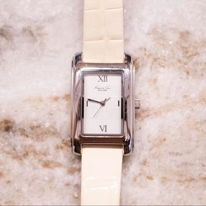 White Kenneth Cole Leather Watch